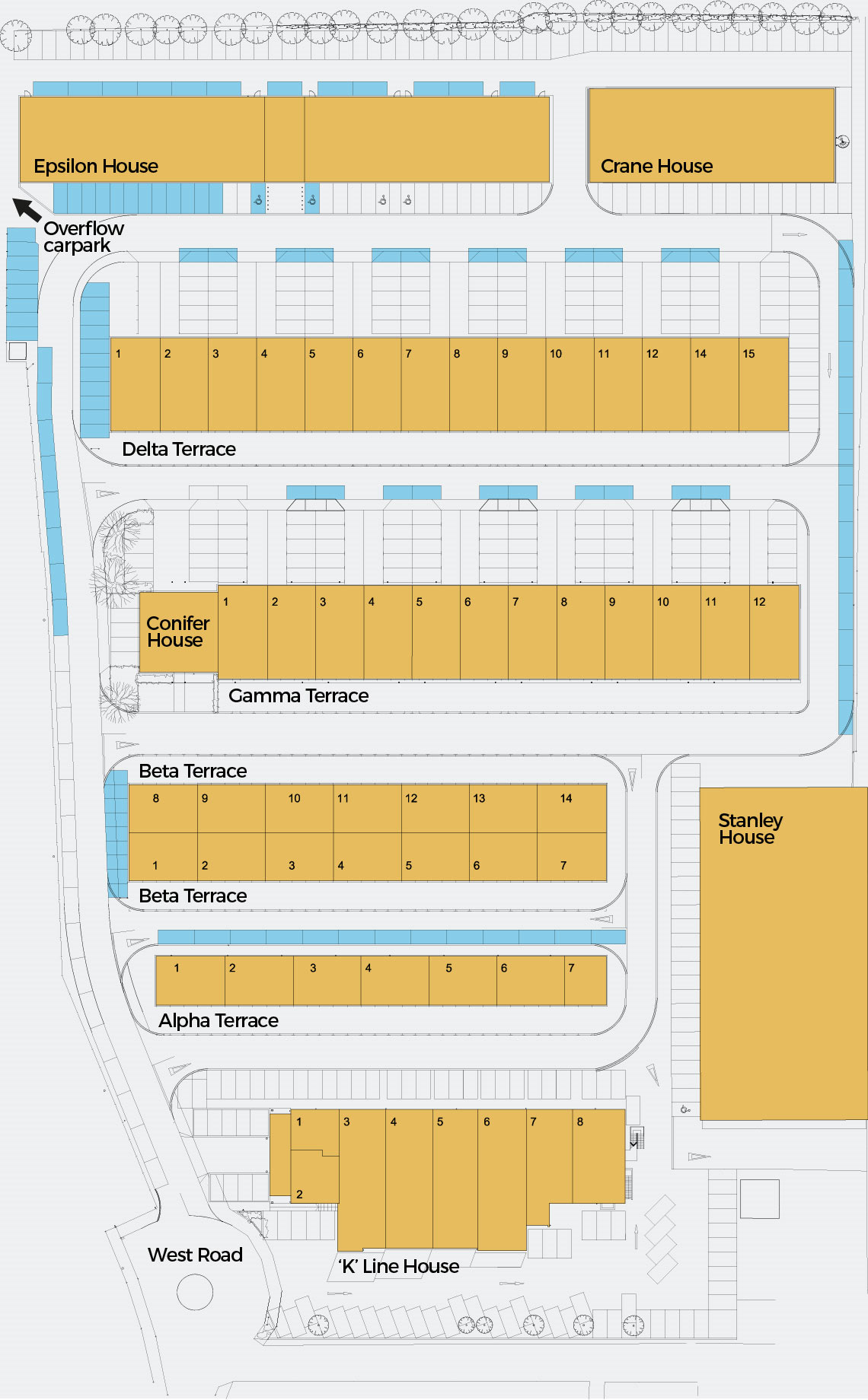 Site map of Masterlord Office Village