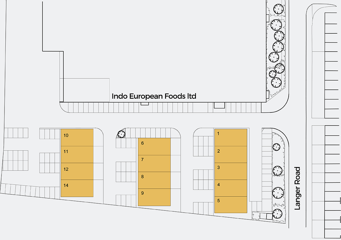 Site map of Summit Business Park