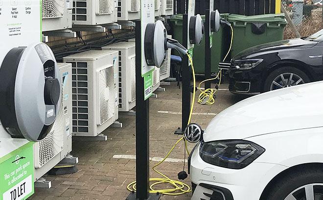 Car Charging Pod